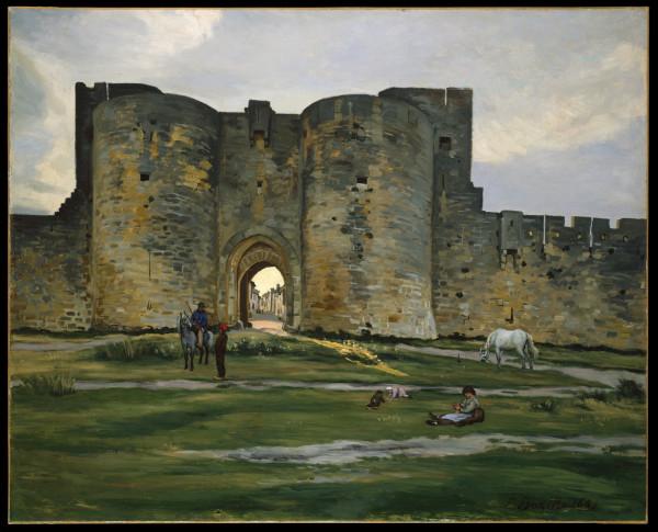 Porte de la Reine at Aigues-Mortes