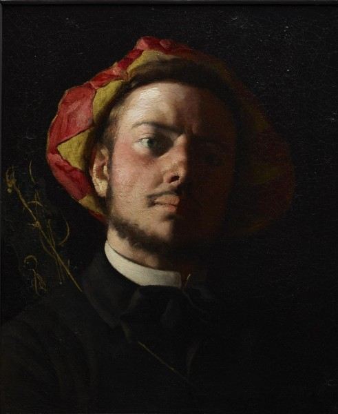 Portrait of Paul Verlaine as a Troubadour