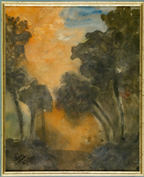 Land Scape by Rabindranath Tagore
