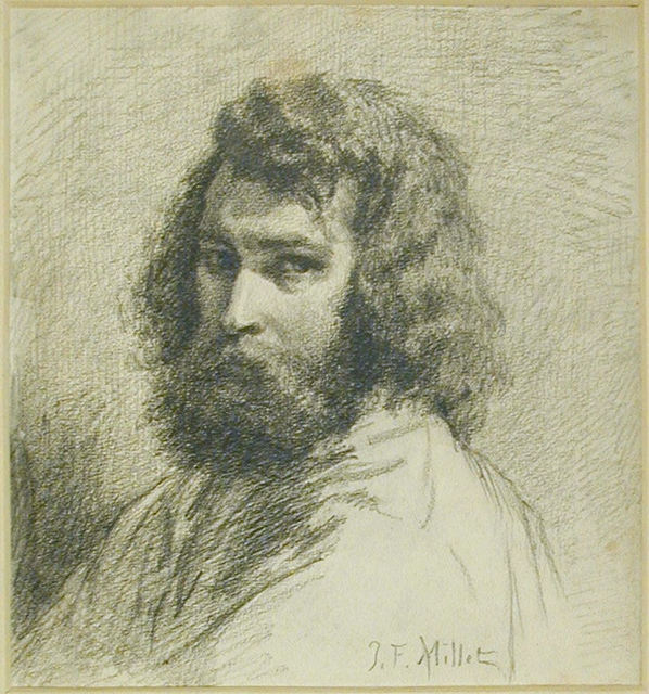 Head and Shoulders of Jean-Francois Millet