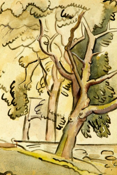 trees, watercolor, 1943 22 1-4x 18 1-4.jpg