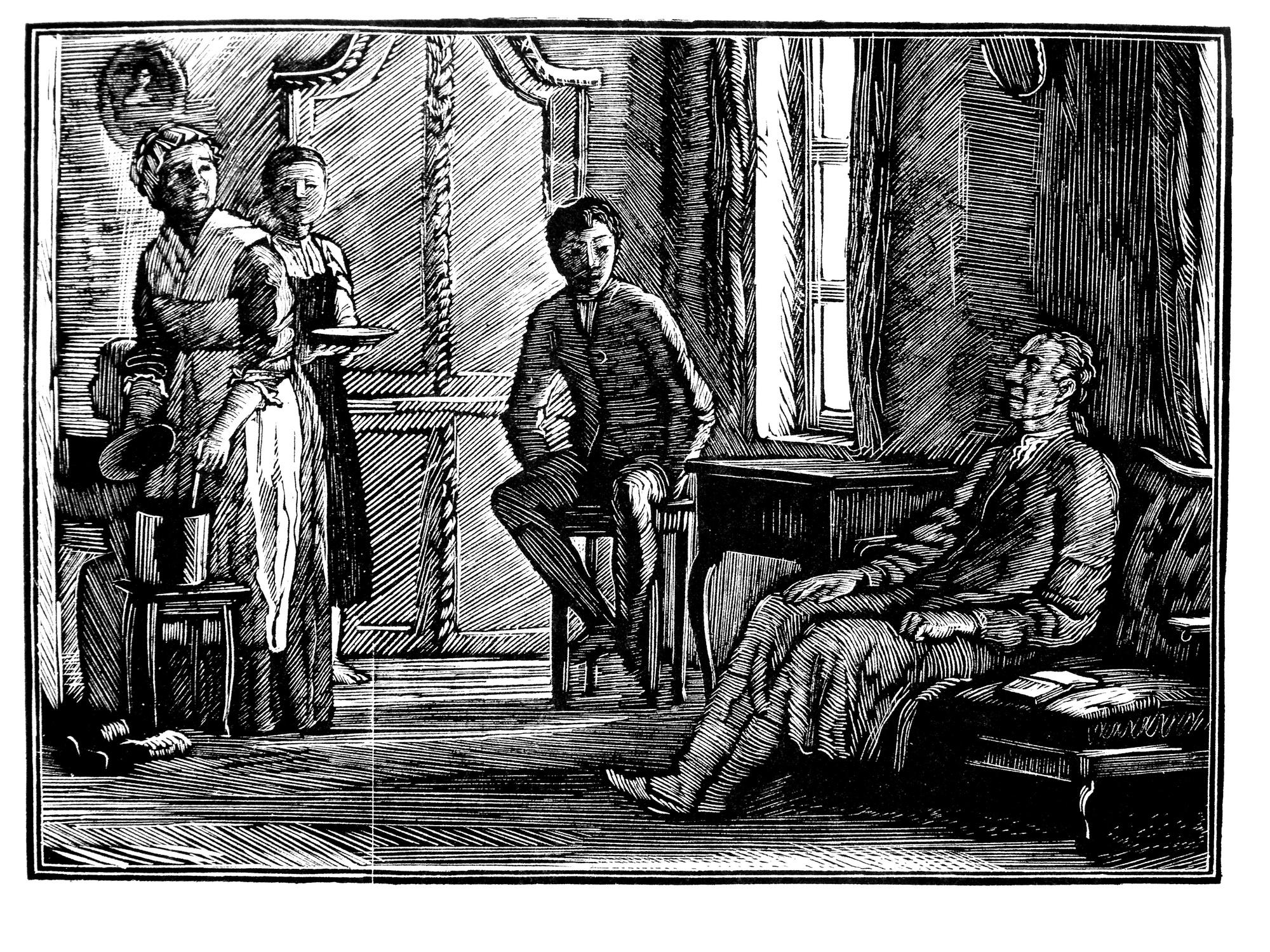 Иллюстрации к капитанской дочке по главам