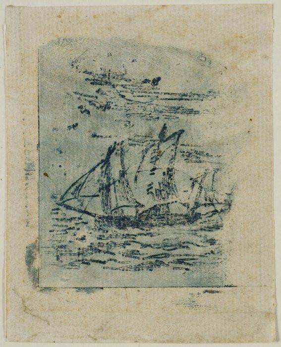 A Vessel Under Sail, c. 1847 21