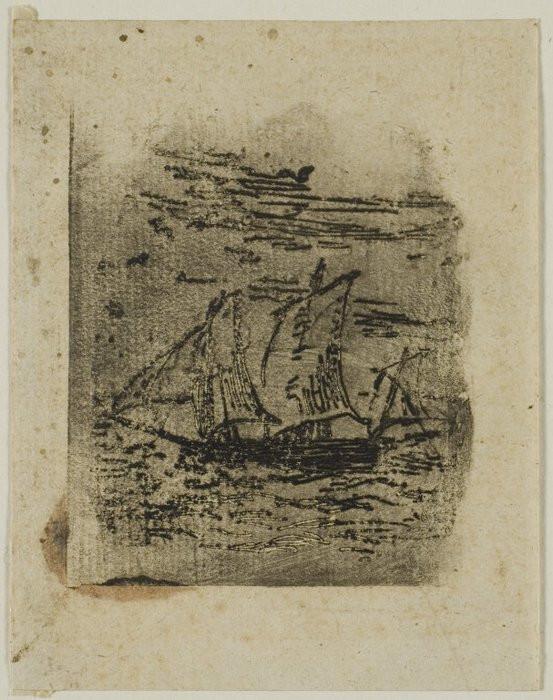 A Vessel Under Sail, c. 18471