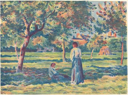 Under the Apple Trees, Near Gisors (Sous les pommiers, environs de Gisors)
