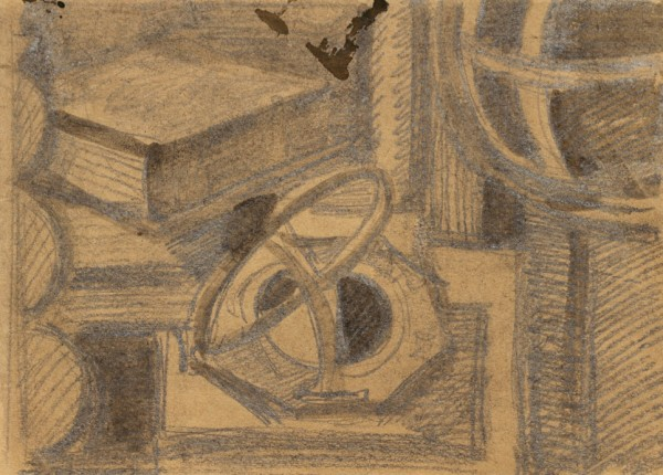 «Натюрморт», 1976 бумага, тушь, кисть, карандаш 20×28 см..jpg