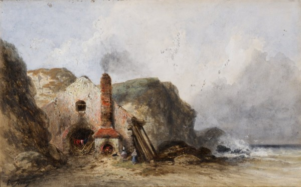 Seacoast with House Gouache and watercolor 32 x 51 cm Herbert F. Johnson Museum of Art.jpg