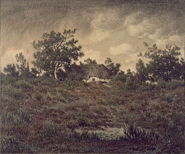 Landscape with Cottage ca. 1865 watercolor with crayon over graphite underdrawing on beige 31.8 x 37.7 cm thewalters.jpg