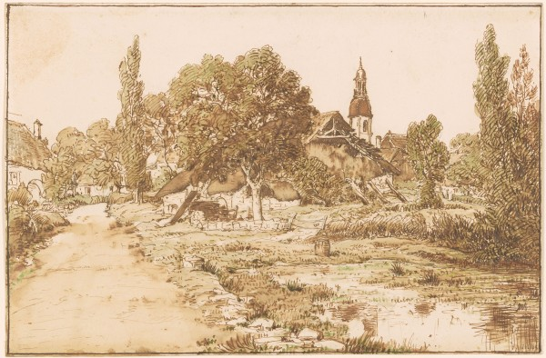 Village and Church of Beurre, Franche-Comte ́.jpg