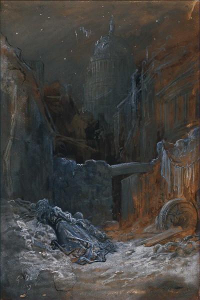 Pauvresse à Londres Lavis, plume et rehauts de gouache blanche, 46,3 x 30,6 cm Strasbourg, Musée d'Art moderne et contemporain.jpg