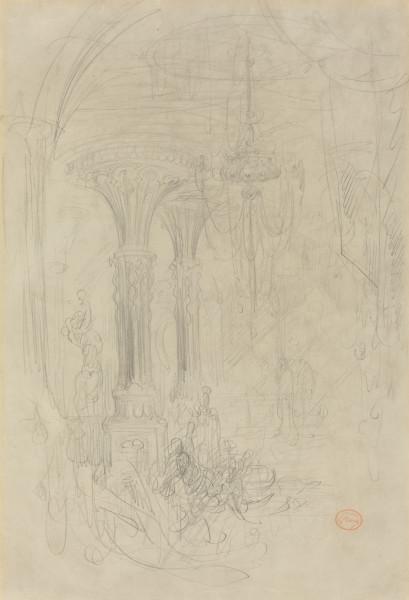 Cleopatra graphite on wove paper 44.4 x 30.5 cm nga.jpg