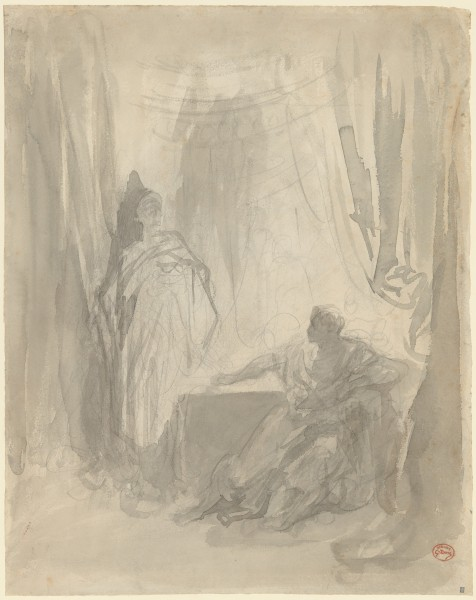 L'Apparition  1850–83  Brush and gray wash over black chalk 48.1 x 37.3cm metmus.jpg