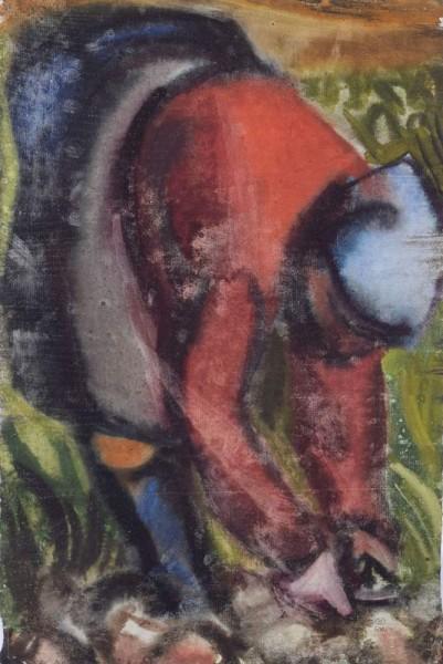 Rübenzieherin 1961 Aquarell auf Bütten 42 x 28.jpg