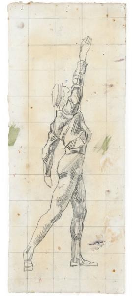 Etude pour pour L'Unanimité 1911-1913 crayon de graphite sur papier 440 x 180 mm MAH.JPG