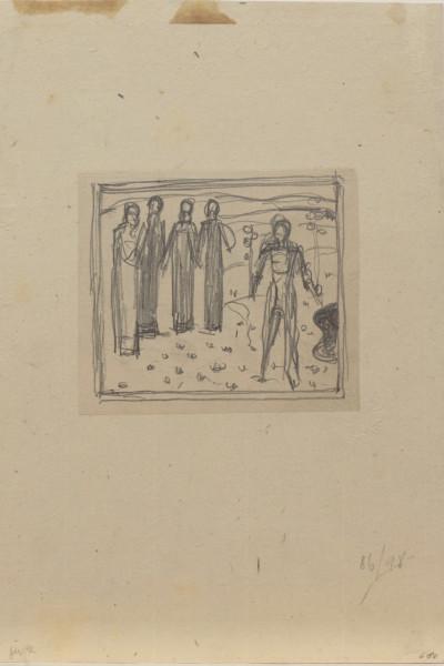 Studie für «Le jeune homme admiré des femmes I» (1903). Musée Jenisch Vevey.jpg