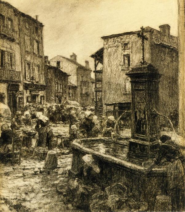 Fountain at Châtelguyon