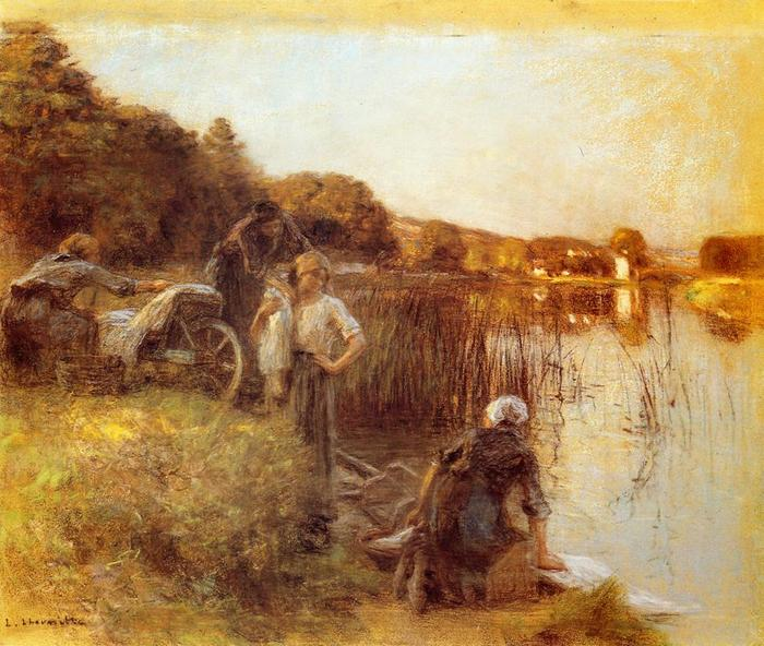 Washerwomen on the Banks of the Marne1
