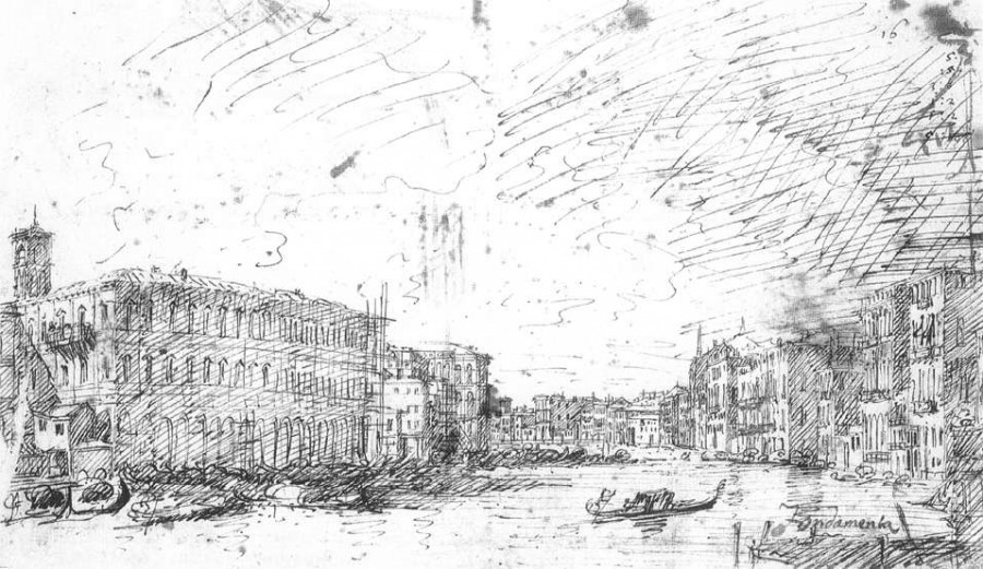 the-grand-canal-seen-from-rialto-toward-the-north-1725