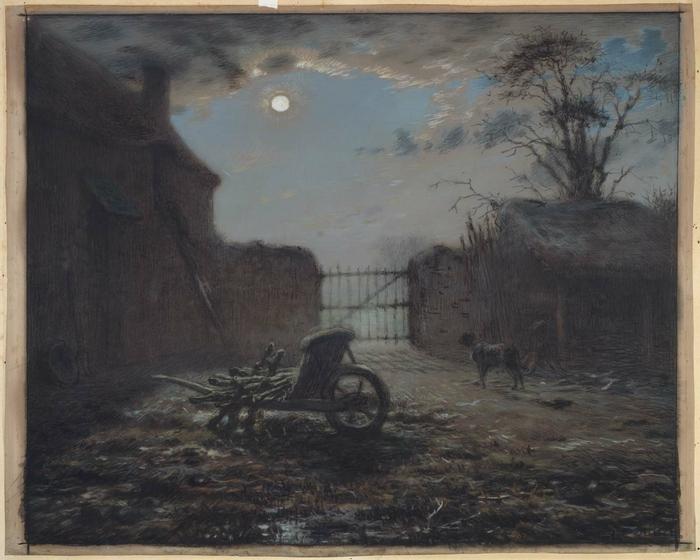 Farmyard by Moonlight 681