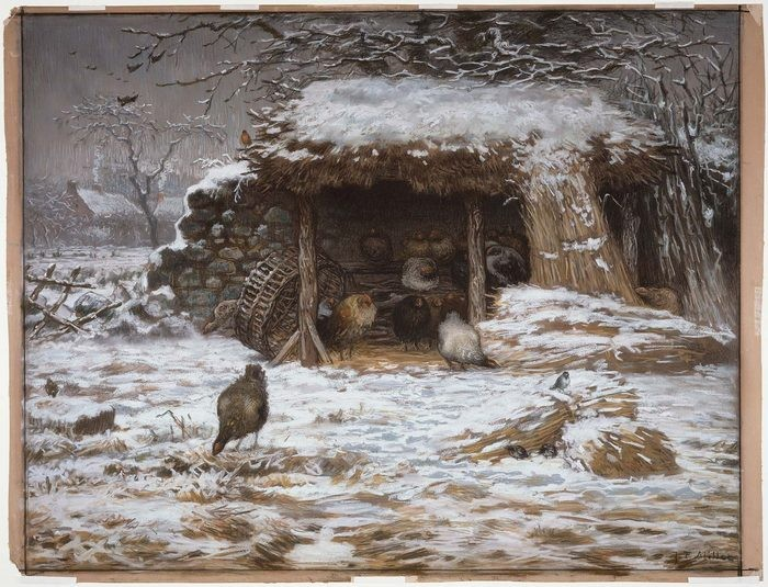 Farmyard in Winter 681