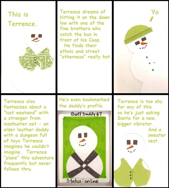 Terence the Lonely Snowman