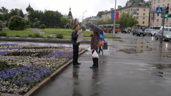 пскович благодарит активиста