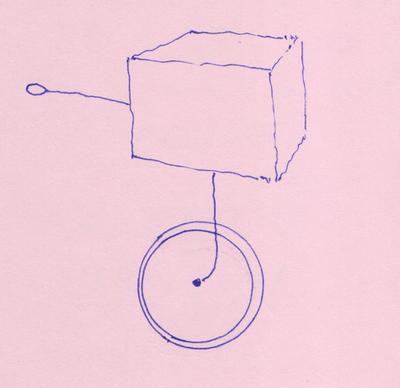 коробка на колесе 001