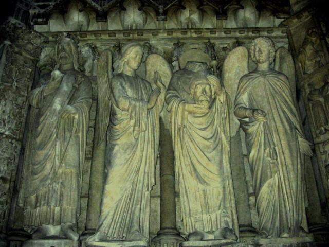 Иоанн Креститель взирает на всё происходящее с необычной точки зрения