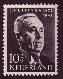 postzegel_Huizinga_1954
