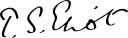 128px-TS_Eliot_Signature