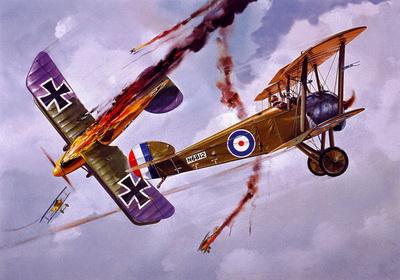 Воздушный бой на Восточном фронте. 1917.