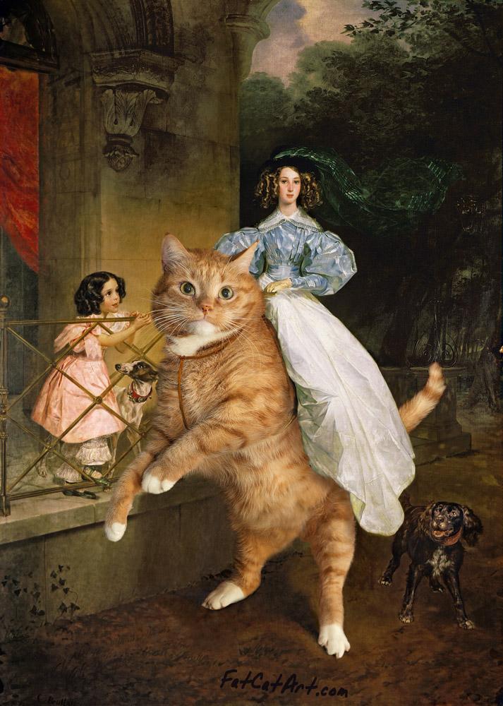 Bryullov_Rider-on-the-cat-w