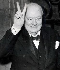 V Черчилль