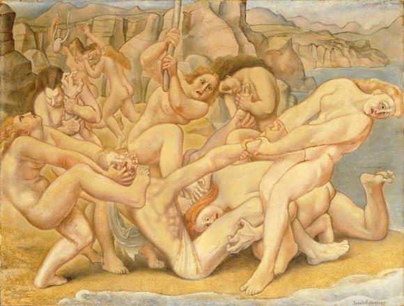 Смерть Орфея. 1925-1939. Луи Буке (1885-1952)