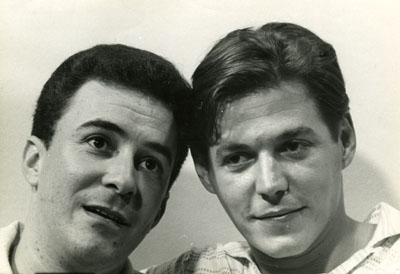 Antonio Carlos Jobim e João Gilberto 1960