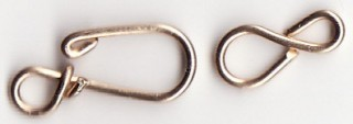 Hook and Eye Clasp