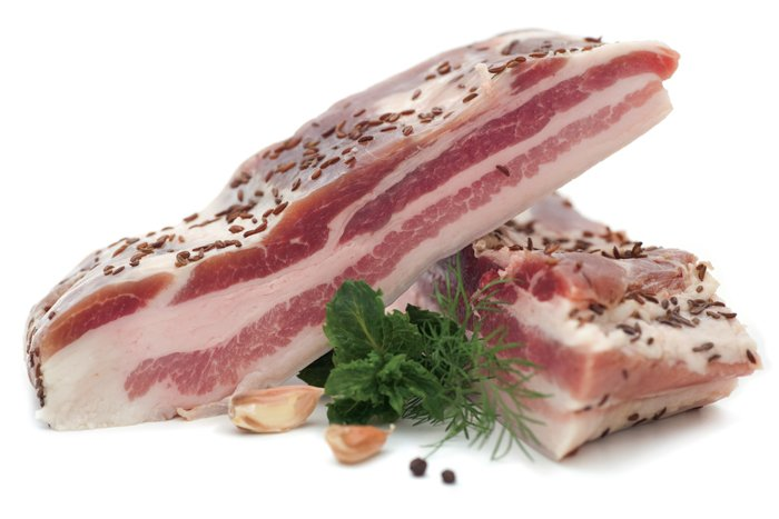 Свиная грудинка соленая рецепт