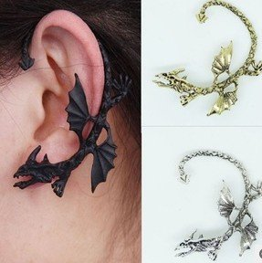 Min-order-10-mix-order-Free-shipping-C020-New-arrive-punk-style-metal-wing-dragon-vintage