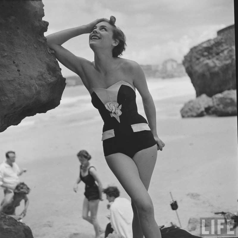 Beach Fashion by Gordon Parks for LIFE Magazine '1951