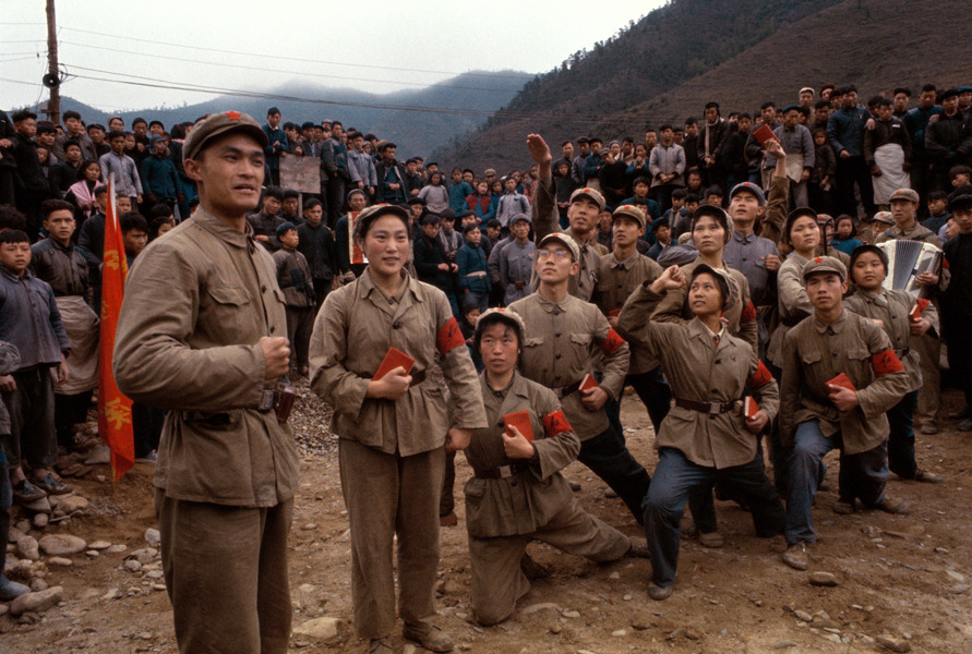 Photos of Red Guards, China 1966 (8)