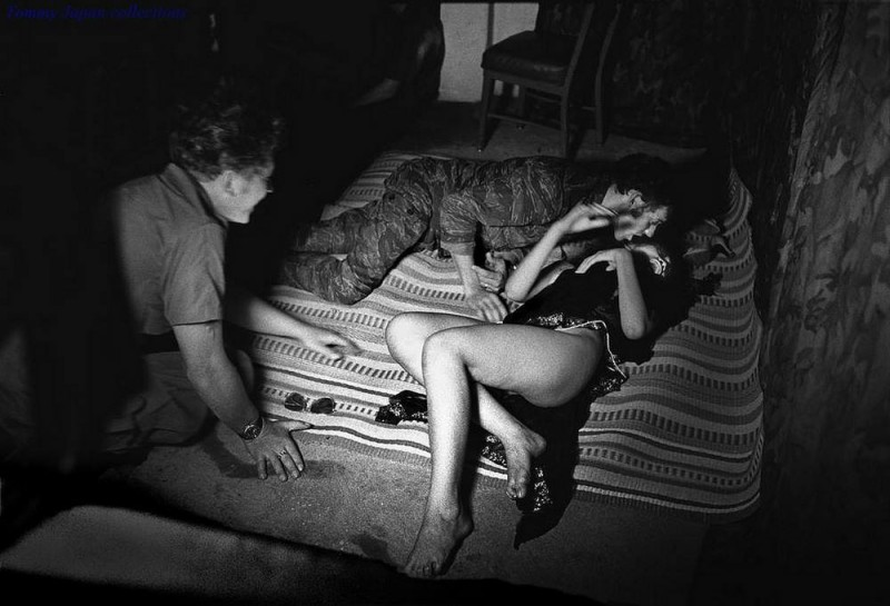 Prostitution during the Vietnam War: Vietnamese Bar Girls, 1960's - 1970's (Black and White)