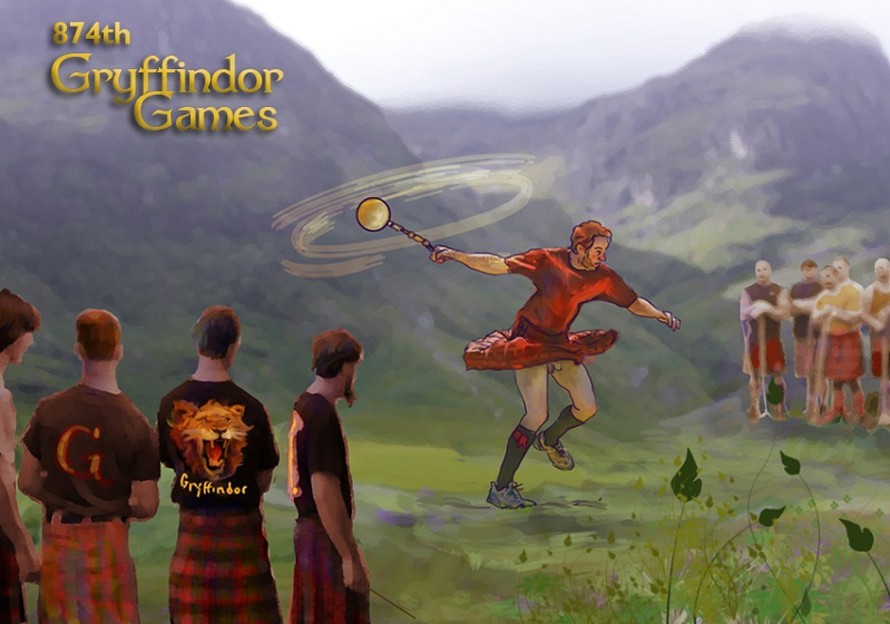 The 874th Gryffindor Games