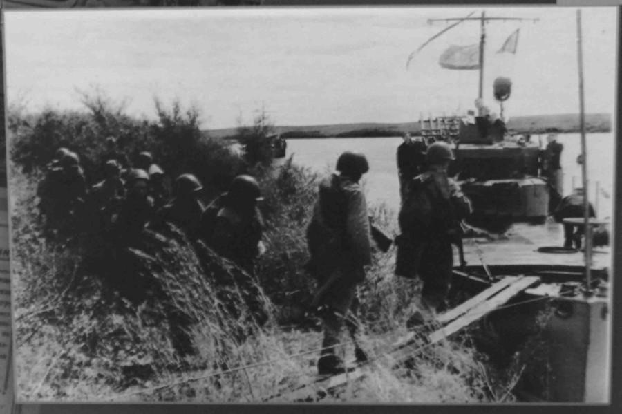 погрузка пехоты на бк