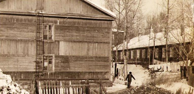 барак (Островского, 2) 1977 год. Хабаровск