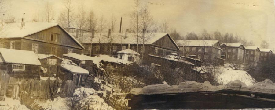 бараки по ул. Островского (1977год) Хабаровск