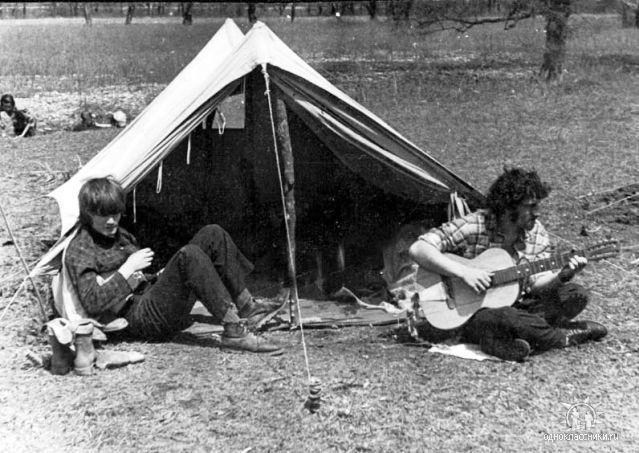 1973. Приморье. Йог и Есаул под Сенькиной Шапкой.