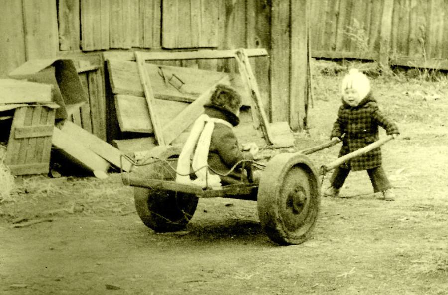 Гарнизонное детство.