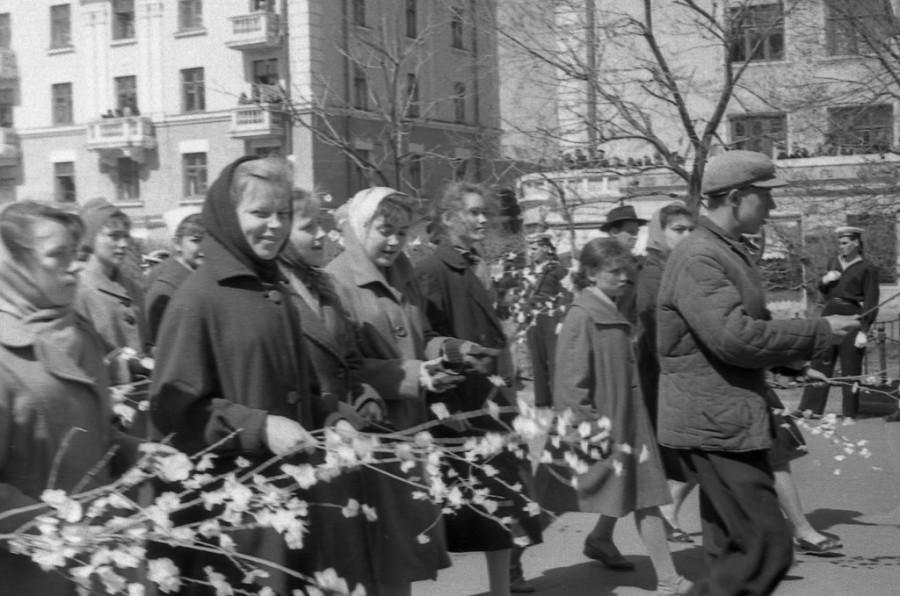 майская демонстрация