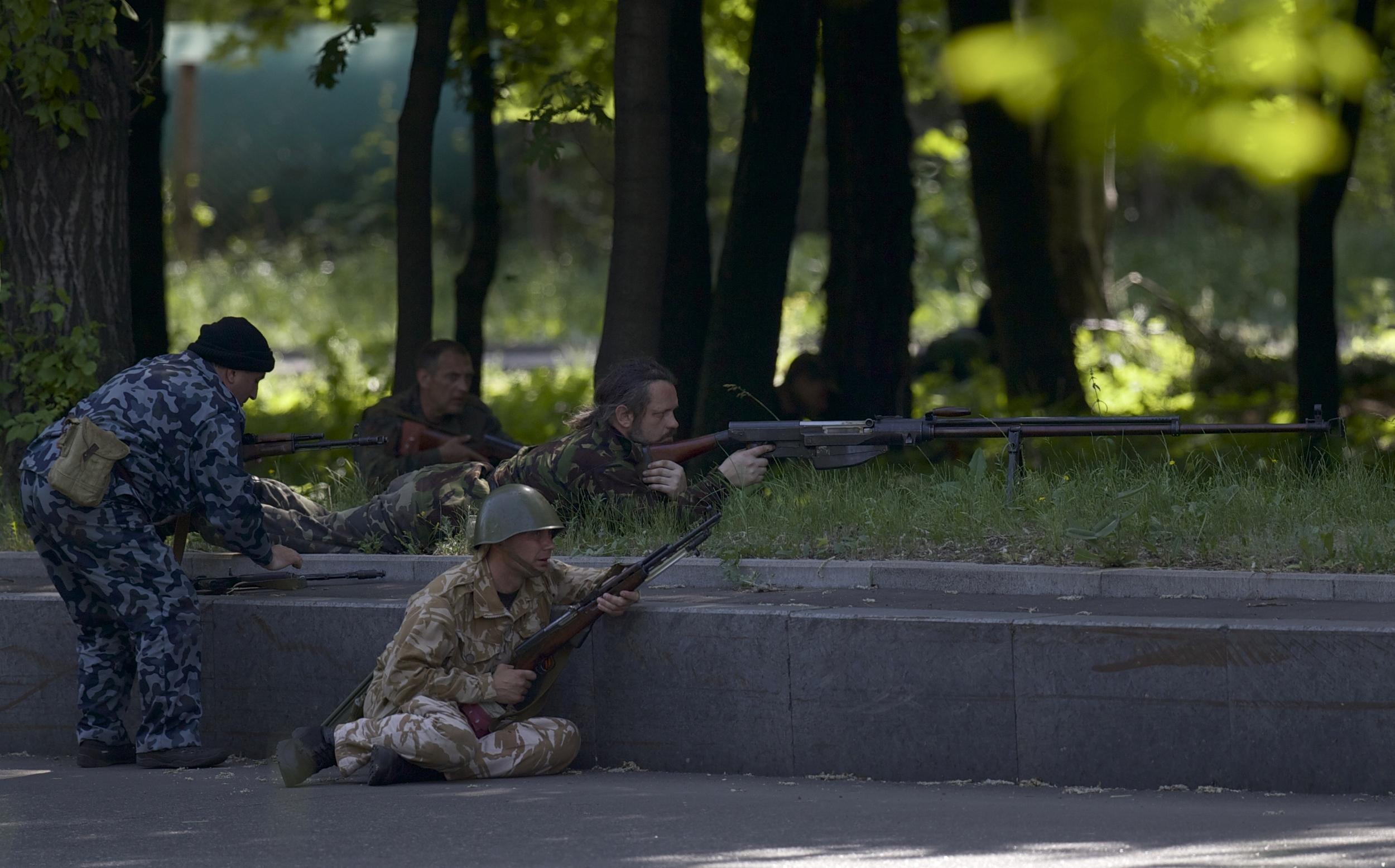 В Донецкой и Луганской областях будет действовать сводный отряд милиции, - Аваков - Цензор.НЕТ 4889
