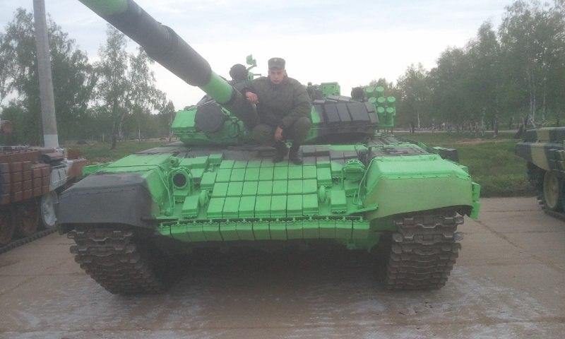 Селфи с российским танком Т-90А на Донбассе в профилях танкистов из РФ и луганских террористов - Цензор.НЕТ 6132